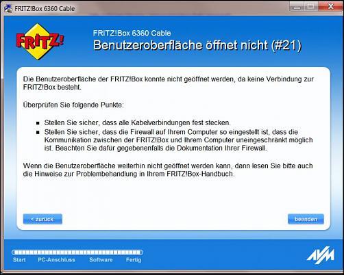 Fritz!Box 6360 Cable Benutzeroberfläche? - DSL Router Forum