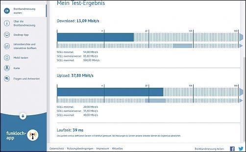Klicken Sie auf die Grafik für eine größere Ansicht Name:speedtest 1.jpg Hits:3 Größe:40,6 KB ID:3243