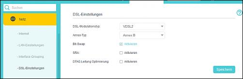 Klicken Sie auf die Grafik für eine größere Ansicht Name:Netz_DSLEinstellungen.jpg Hits:3 Größe:15,3 KB ID:2819