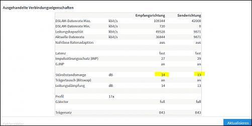 Klicken Sie auf die Grafik für eine größere Ansicht Name:Fritzbox 7490 DSL Infos.jpg Hits:4 Größe:24,7 KB ID:2598